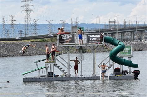 Tarzan Boat Long Island video this fantastic rockaway water park will make its