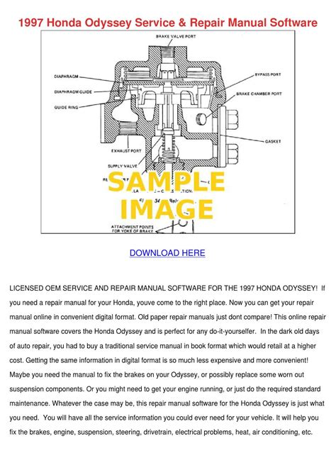 free service manuals online 2000 honda odyssey on board diagnostic system 1997 honda odyssey service repair manual soft by karenguthrie issuu