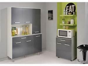 Buffet De Cuisine Conforama : sup rieur couleur meuble cuisine 7 buffet basalte vente ~ Dailycaller-alerts.com Idées de Décoration