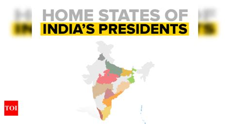 Infographic: Which states India's Presidents have hailed ...