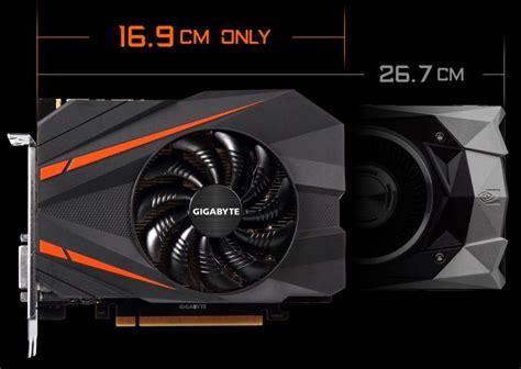 gtx 1080 single fan gigabyte unveils geforce gtx 1080 mini itx 8g for sff builds