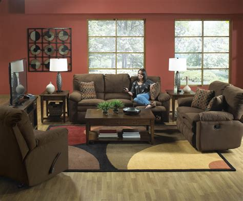 Rent To Own Impulse Reclining Sofa & Rocker Recliner