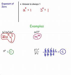 Exponents With Multiplication And Division