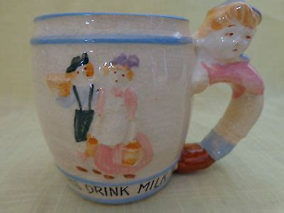 vintage 1955 japan nursery rhyme perrette et le pot au lait mug a ebay children