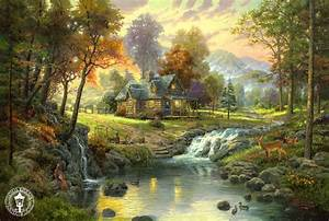 Thomas Kinkade Signed and Numbered Limited Edition