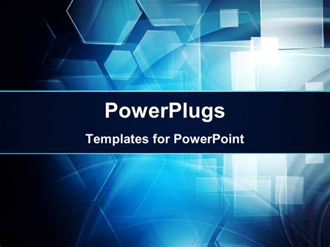 Powerplugs Templates For Powerpoint by Powerpoint Template Hi Tech Background With Abstract