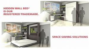 HiddenWallBed Space Saving Solutions