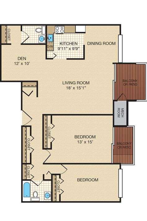 1 bedroom and den apartments in maryland 2 bedroom and den apartments in md 28 images 2 bedroom