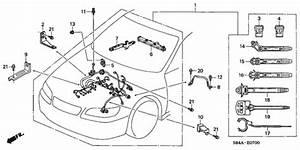 Engine Wire Harness For 2002 Honda Accord Sedan
