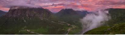 Panoramic Scotland Dual Uhd Wallpapers Monitor 4k