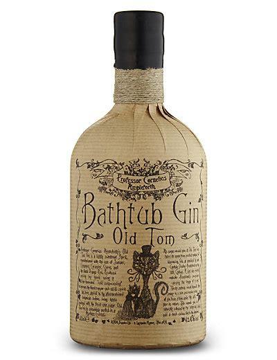 bathtub gin single bottle m s