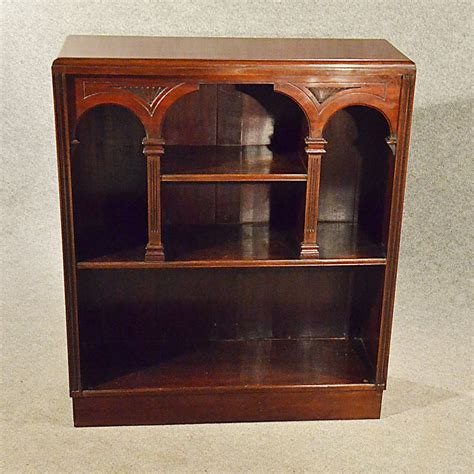 Antique Bookcase Display Library Book Cabinet  Antiques Atlas