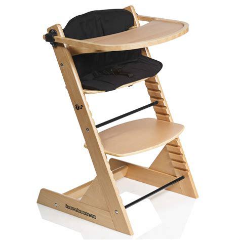 sangle chaise haute seggiolone in legno per bambini advance bebe concept