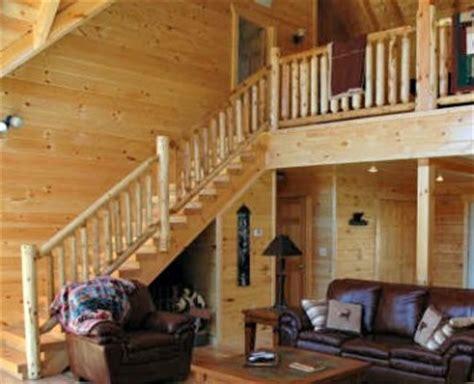spiral stair log railing railing northern white cedar white