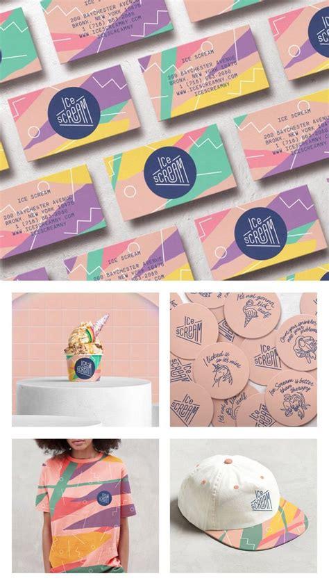 ice scream  images identity design logo graphic