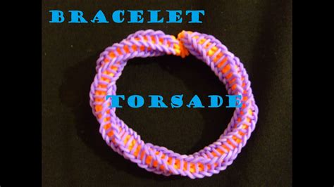 bracelet elastique tuto bracelet elastique torsade termine tuto francais facile