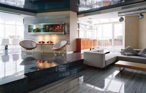 Interior : High-tech Style Interior Design Ideas