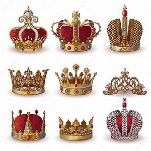 Royal Crowns Collection — Stock Vector © Mogil #116789624