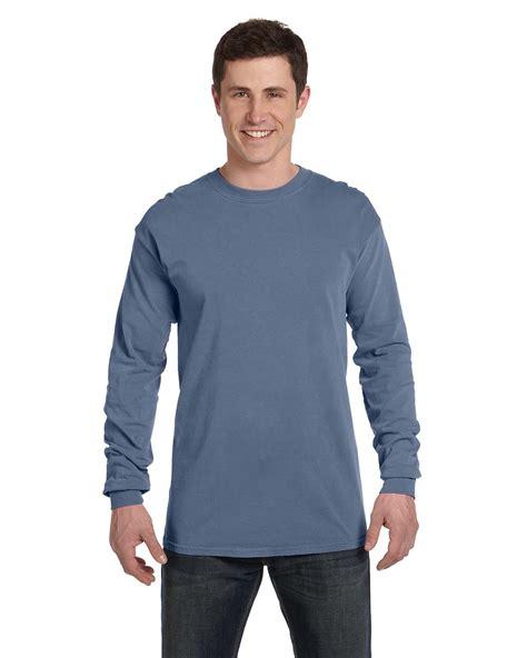 comfort color shirts comfort colors c6014 garment dyed sleeve t shirt