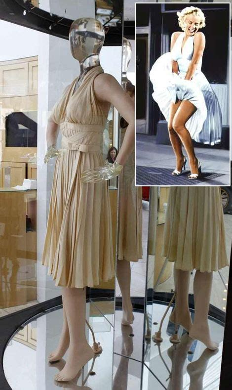 marilyn monroes subway dress  auction history