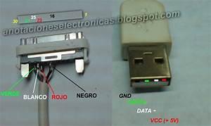 Pinout Cable Usb Para Ipod  Iphone Y Ipad