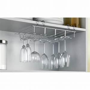 porte verres pour placard et etagere wenko rangement de With etagere pour placard cuisine