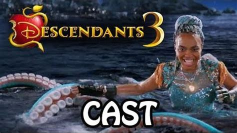 descendants  cast full dream cast list  descendants