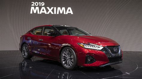 2019 Nissan Maxima Gets More Tech Amid Modest Updates