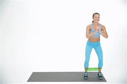 Band Walk Lateral Exercise Popsugar Butt Banded