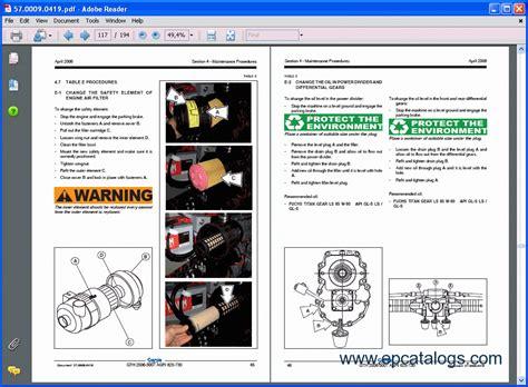 terex lifts service manuals