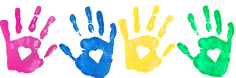 Free Handprint Border Cliparts, Download Free Clip Art
