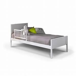 Lit D Enfant Avec Barrière : barri re de lit enfant 70 cm blanc idkid 39 s ~ Premium-room.com Idées de Décoration