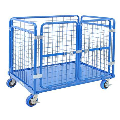 Heavy Duty Cage Trolley | Verdex Equipment