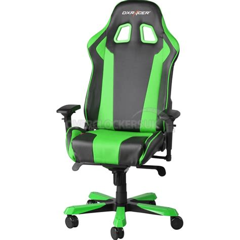 dxracer chaise dxracer king series gaming chair black gree ocuk