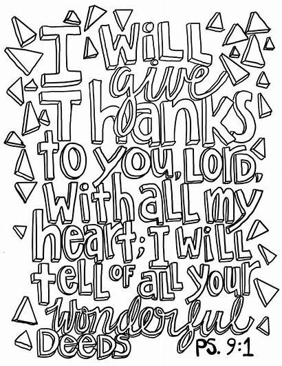 Psalm Coloring Pages Printable Worksheets Comprehension Victory