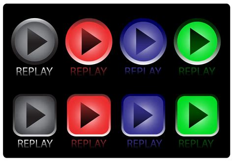 Replay Icon Vectors - Download Free Vector Art, Stock ...