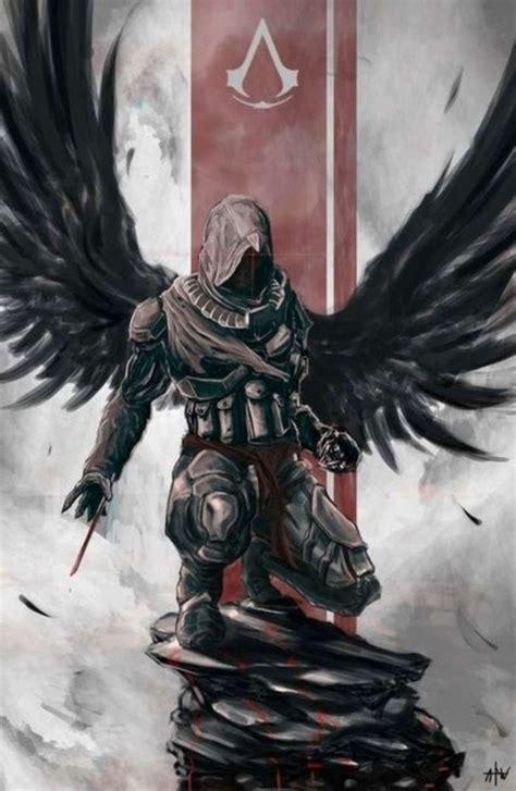 Assassins Creed Fan Art Fantasy Assassin Wings