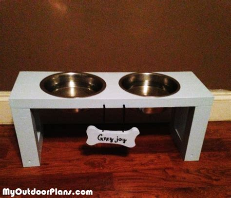 diy boy  girl doggie trays myoutdoorplans