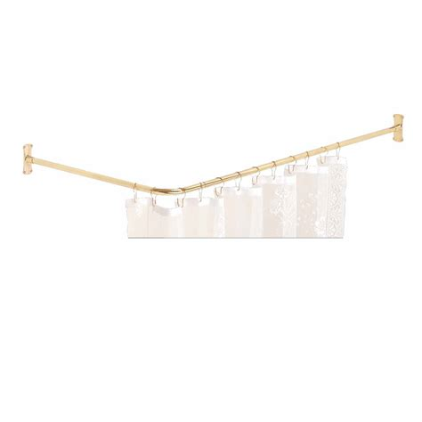 curtain rod for bay window gold color of stainless rod for plastic curtain in modern