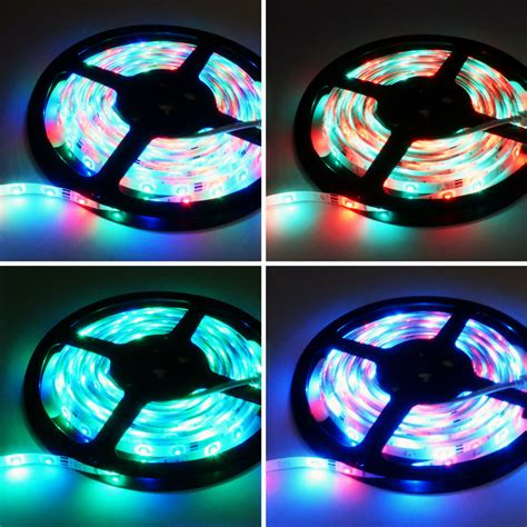 5m 12v Ip65 Waterproof 300 Led Strip Light 35285050 Smd
