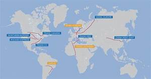 World's Longest Natural Gas Pipelines