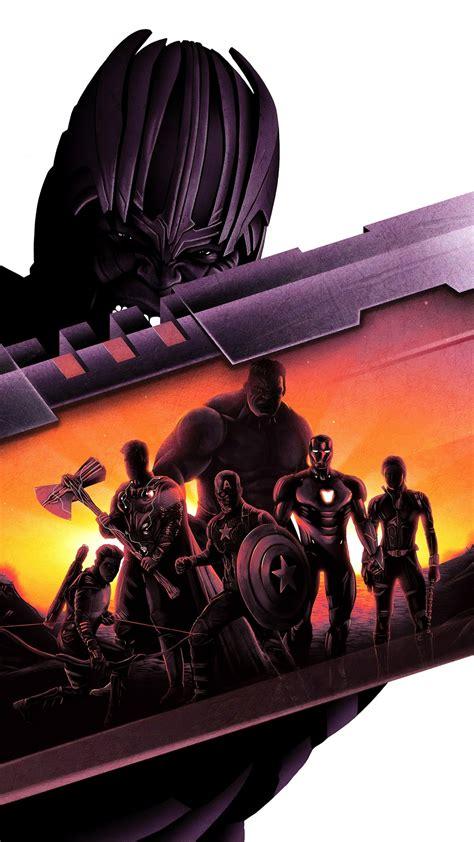 thanos avengers endgame artwork  wallpapers hd