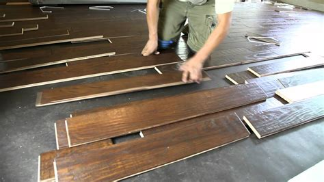 how to install floating hardwood floors the floorman solid 3 4 nail down prefinished hardwood flooring installation video youtube