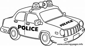 Police Car Coloring Pages To Print Cars For Kids Drawing At Getdrawings Eco Coloring Page