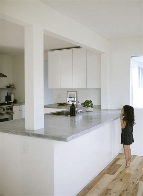 kitchen reno maria lang clean white open modern