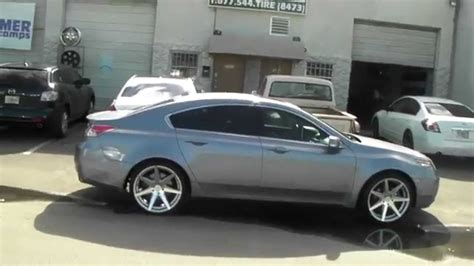 2011 Acura Tl Rims by 877 544 8473 20 Quot Inch Rohana Rc7 Machine Silver Wheels