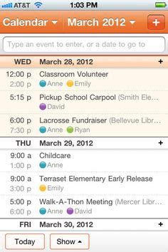 best family calendar app for iphone 1000 images about apps to get on journal app