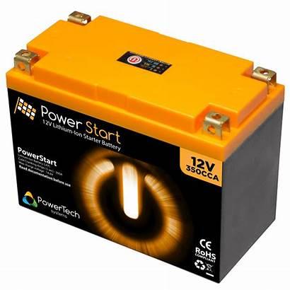 Battery Lithium Starter Powerstart Ion 12v Crystal