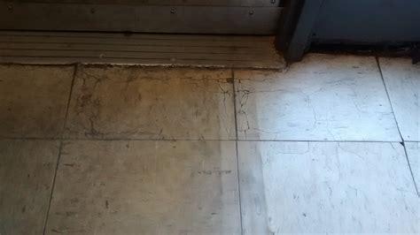 Dangerous   Cracking Tiles