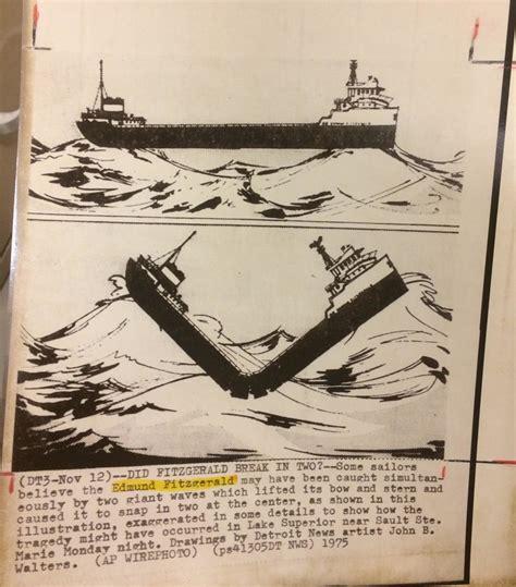 edmund fitzgerald sinking theories edmund fitzgerald 11 10 mr fromm s third grade